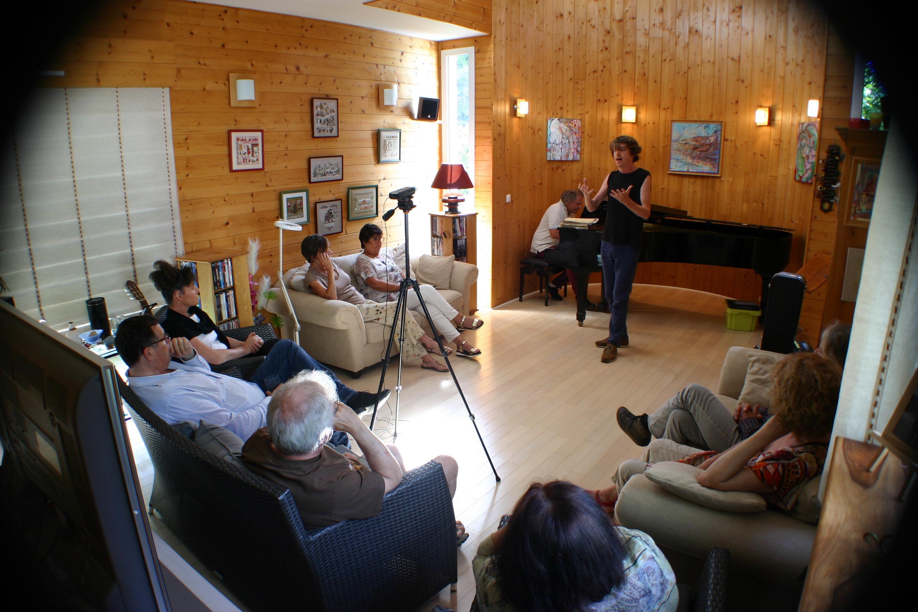 Concert privé (juin 2018)