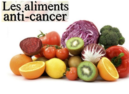 Aliments anti cancer