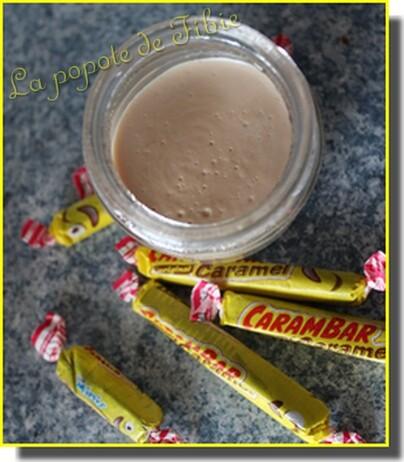 Crème carambars (nouvelle version )