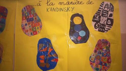 A la manière de Kandinsky