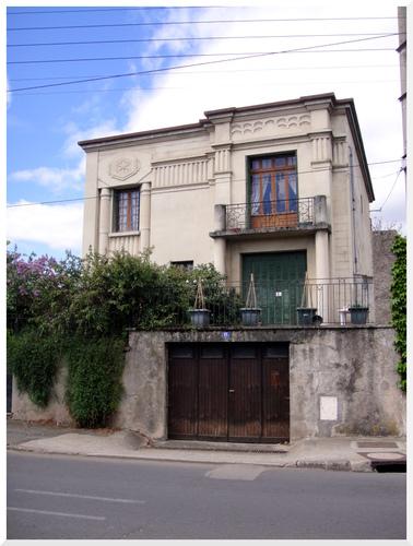 Une maison Art déco en cité de Saint-Gal.