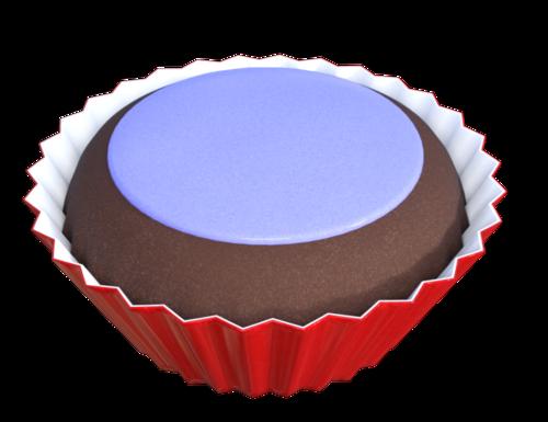 Tubes de cupcake (pâtisserie-image-png)