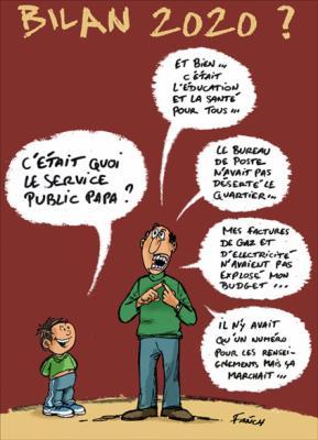 LE SERVICE PUBLIC .