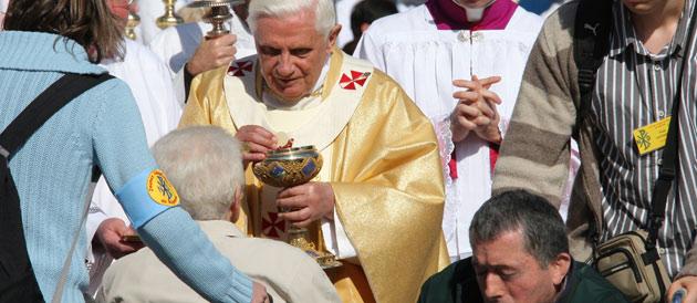 Lourdes : Les malades