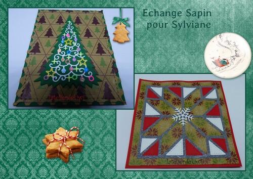 Echange Carte thème Sapin