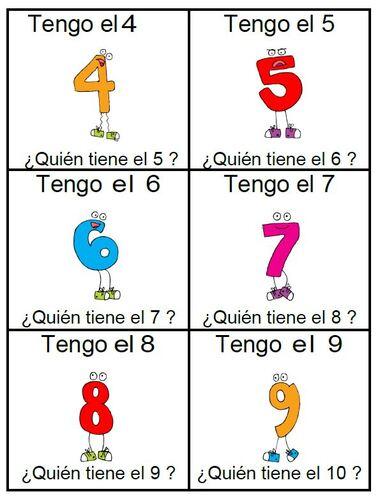I have - who has ?  Alphabet et nombres