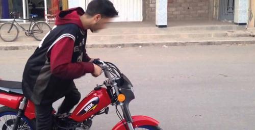 34% des conducteurs de motos ne portent pas de casque de sécurité