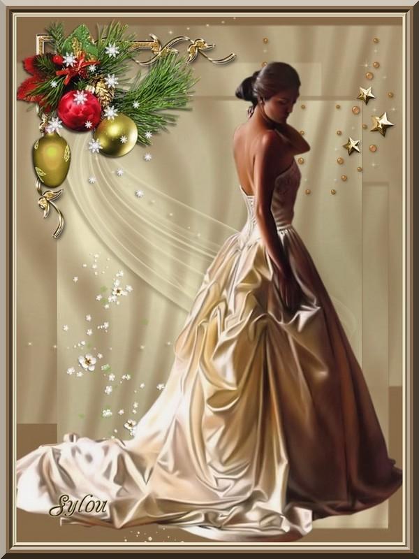 La robe de soirée  ღ