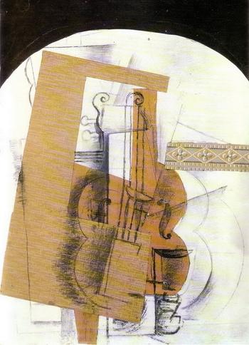 Georges Braque, Violon