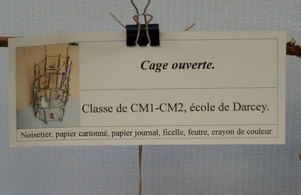 Les élèves de vingt-neuf écoles du Pays Châtillonnais ont réalisé de magnifiques compositions d'oiseaux pour la nuit des musées 2016