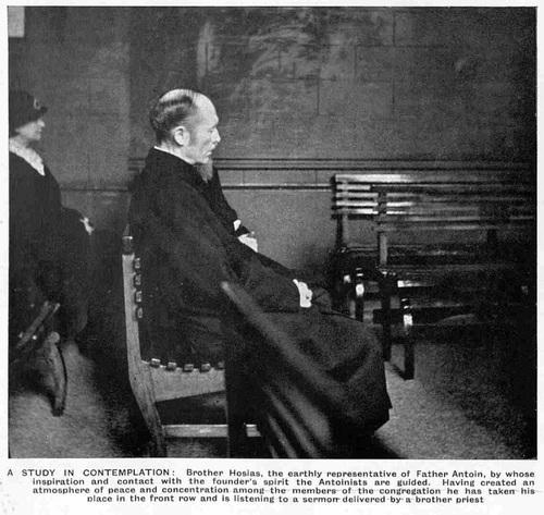 Modern Seers of Liège (The Sphere, Saturday 29 June 1935)-Study in contemplation