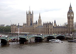 Westminster Bridge, River Thames, London, England