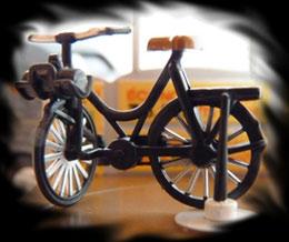 4cv Publicitaire Vélo Solex