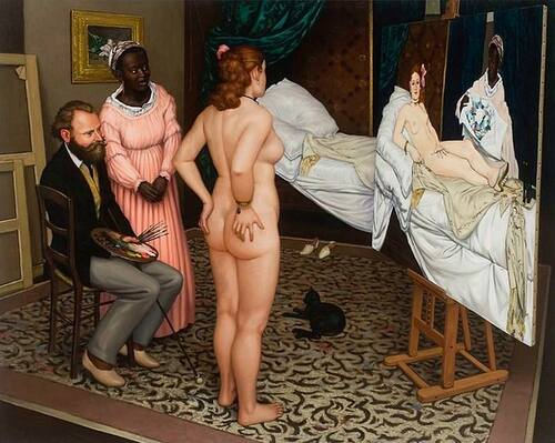 Samedi - Le tableau du samedi : Clin d'oeil à Manet