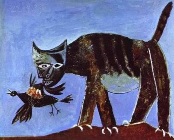 Chat-saisissant-un-oiseau--Picasso-.jpg