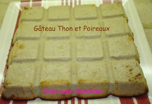 Un Gâteau Thon et Poireaux