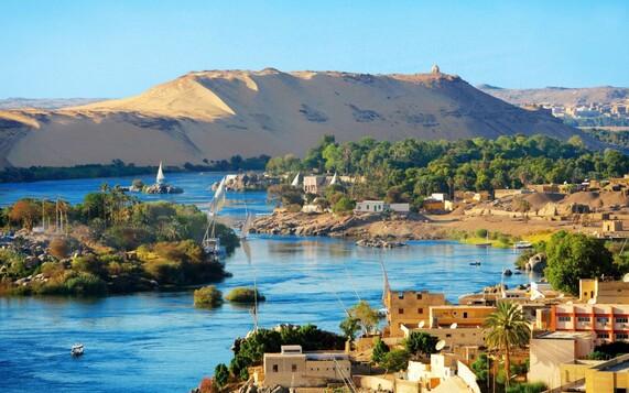 PAYSAGE D'EGYPTE