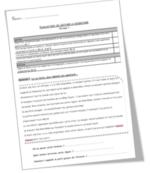 Evaluation de lecture CE1 (période 1)