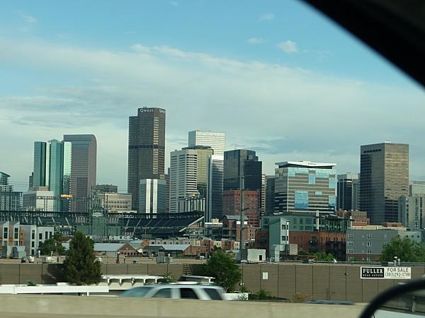 Jour 1 vue sur Denver