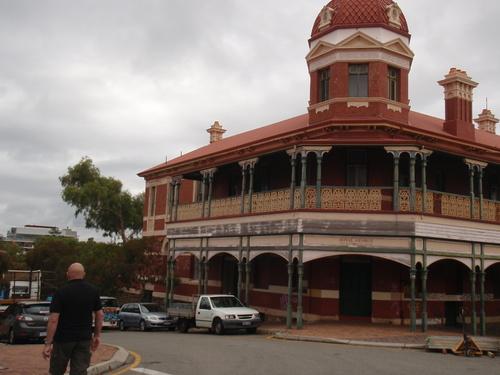 Promenade dans les rues de Fremantle