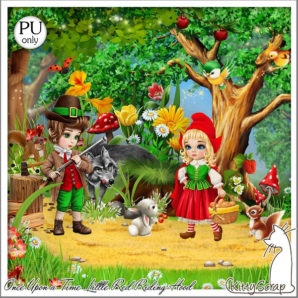 ONCE UPON A TIME LITTLE RED RIDING HOOD - jeudi 19 mars / thursday marsh 19th Kitty524