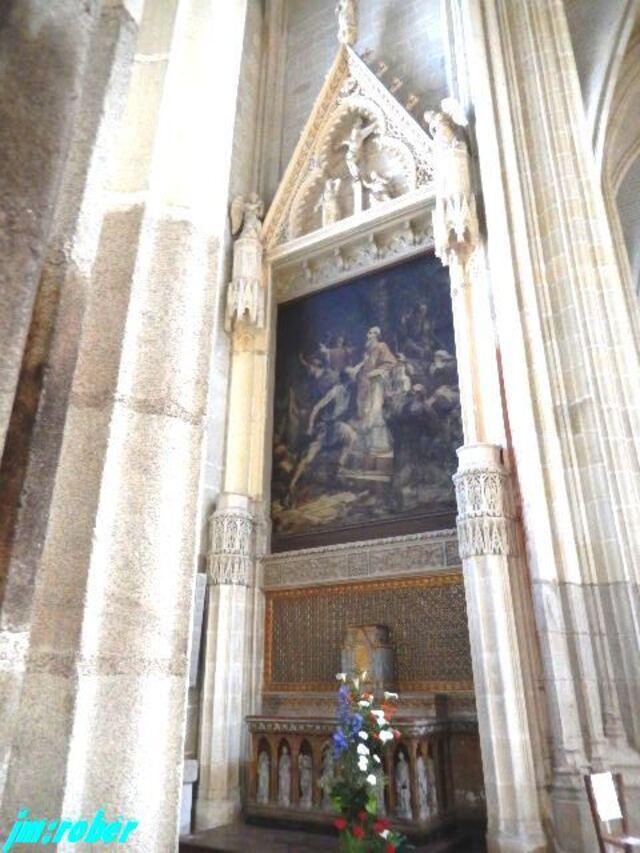 Un weekend et la visite de la belle Cathédrale de Nantes