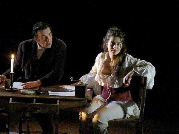 """""""Proudhon modèle Courbet"""" une pièce de théâtre extraordinaire qui a ébloui les Châtillonnais !"""