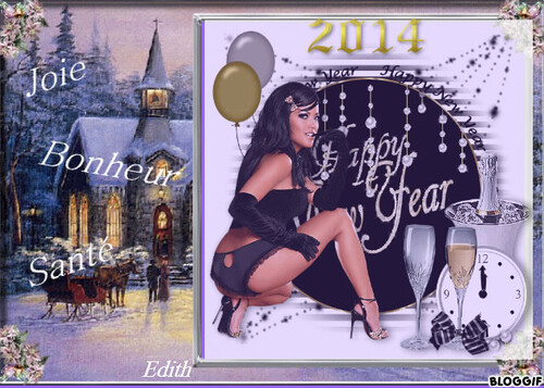 AU REVOIR 2013 BONJOUR 2014....