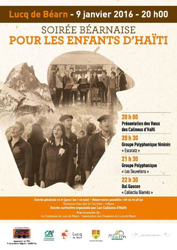 SOIREE BEARNAISE solidaire Lucq de Béarn2016