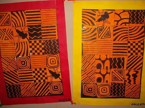 Nos tableaux d'Afrique