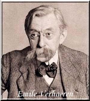 """"""" Des fleurs fines et mousseuses comme l'écume """" poème de Emile Verhaeren"""