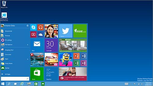Windows 10 : les nouveautés du futur OS Microsoft