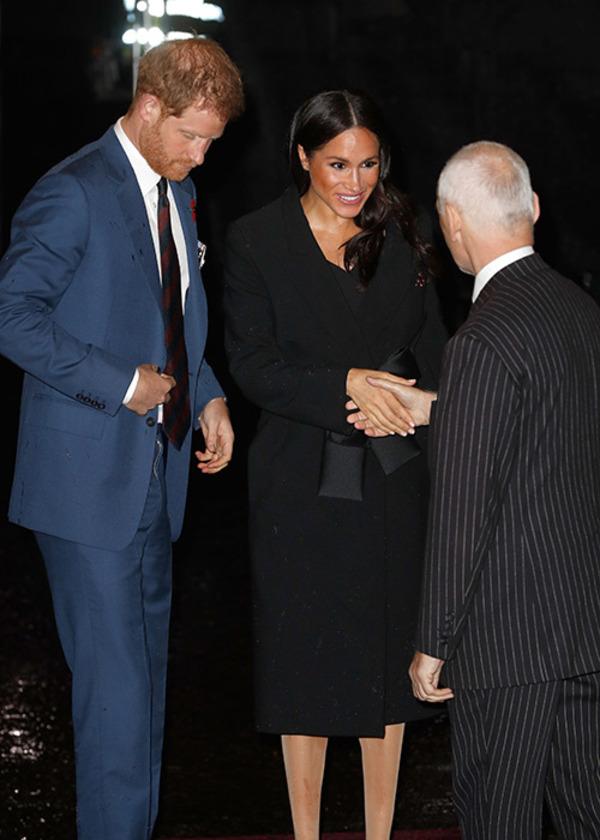 Souvenir avec la famille royale