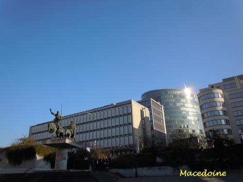 Visite de Bruxelles, le 14 novembre