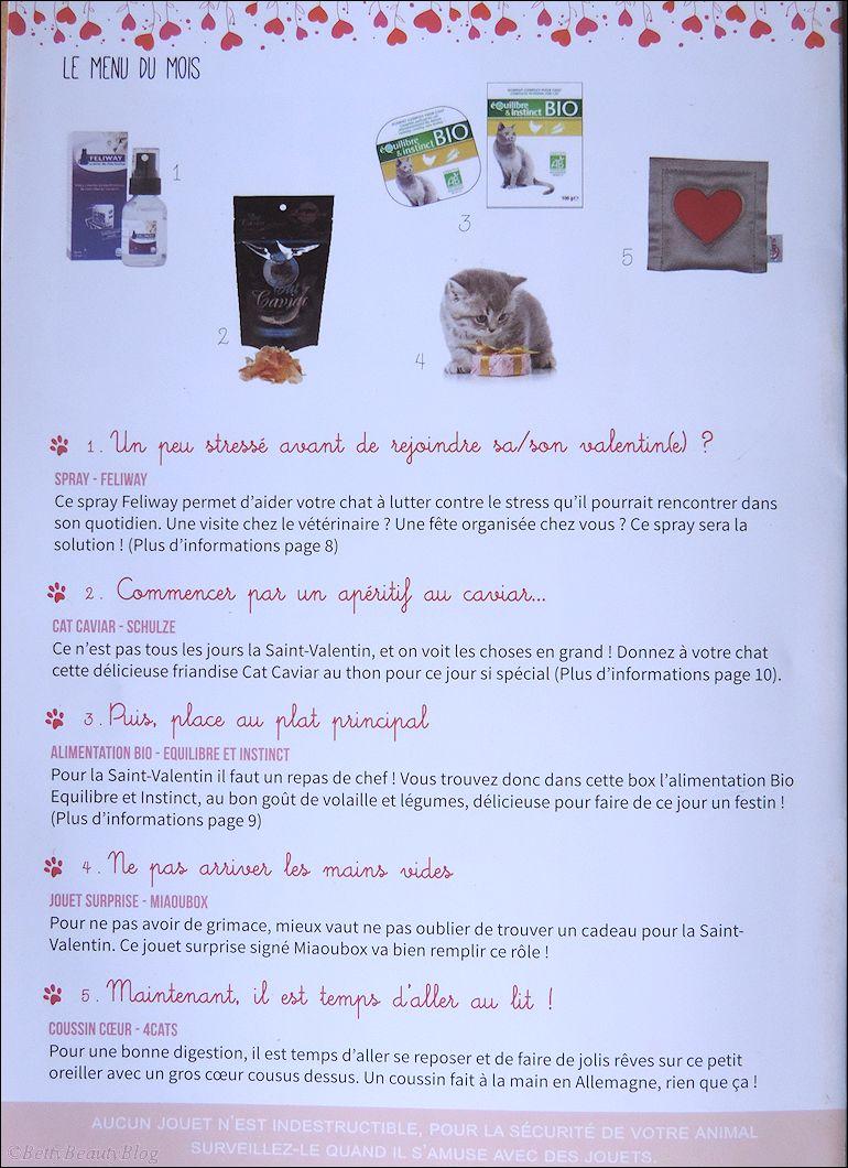Miaoubox ET woufbox saint Valentin Et concours !