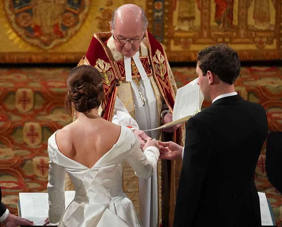 Mariage d'Eugénie et de Jack