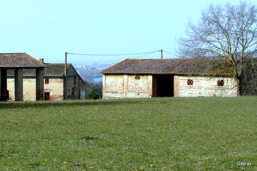 La ferme abandonnée …