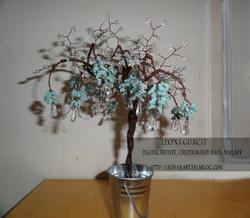 arbres en perles