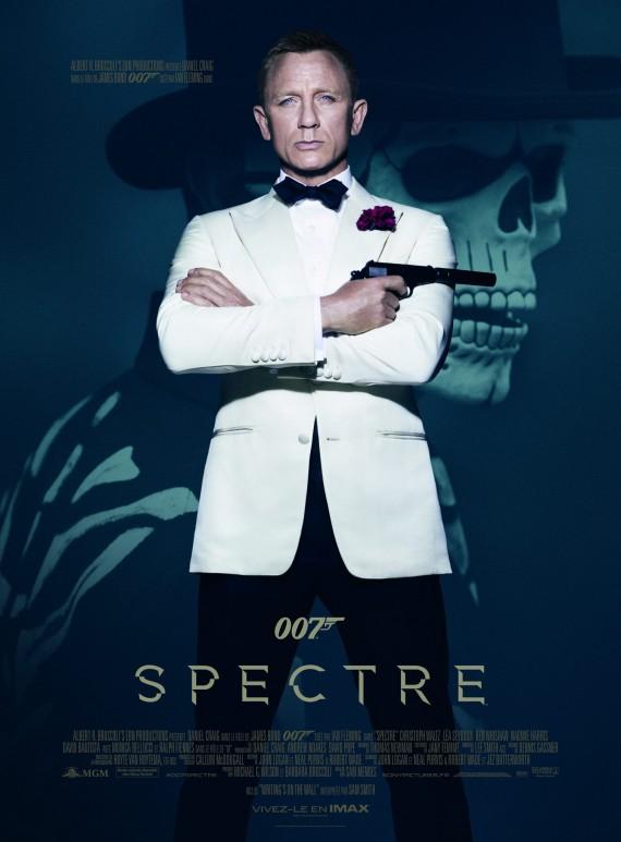 007 Spectre affiche