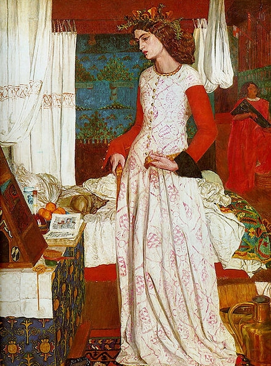 William Morris, La reine Gueni