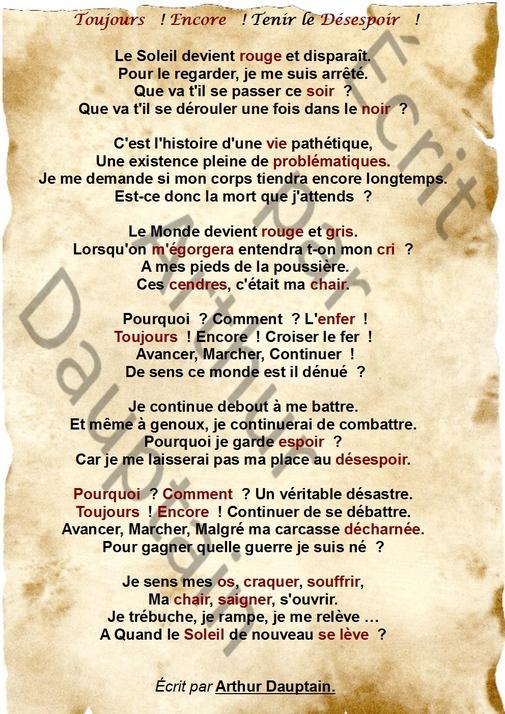 Graines De Poème Page 5 Plume De Loup