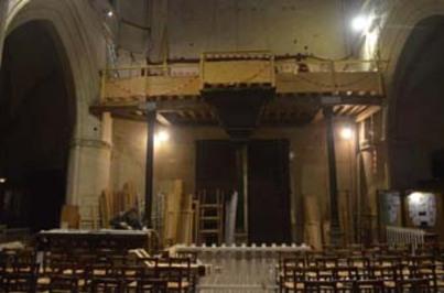L'orgue de 3142 tuyaux...