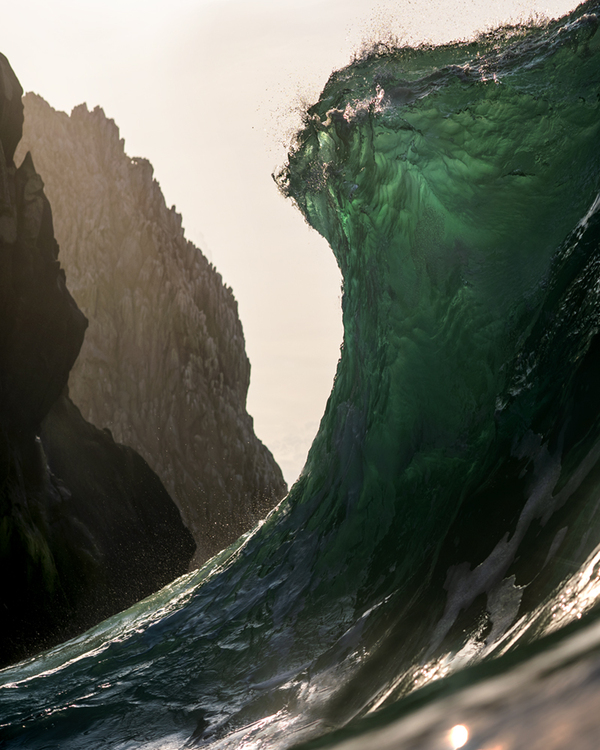 La vague....