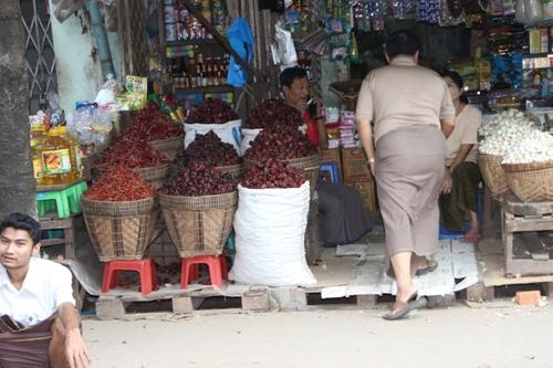 Rangoon, le quartier chinois