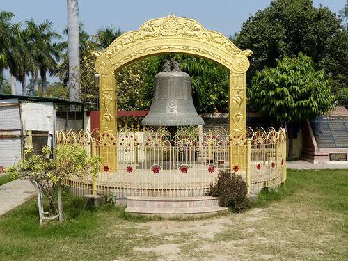 Sarnath; le temple bouddhiste Mulagangha Kuty Vihara