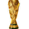 le trophée en or massif de la coupe du monde