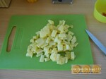 Velouté de maïs au chorizo