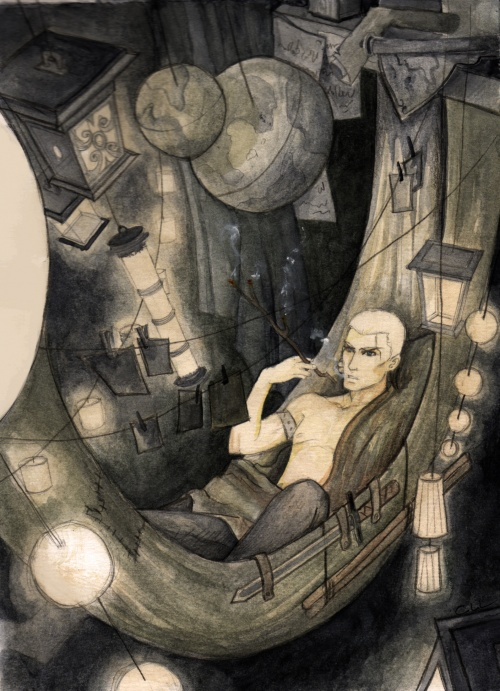 chambre d Arkhel à l'Anachron