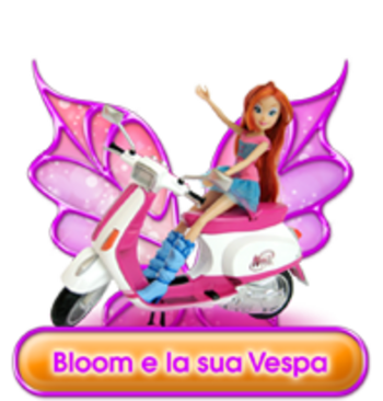 Bloom et sa vespa