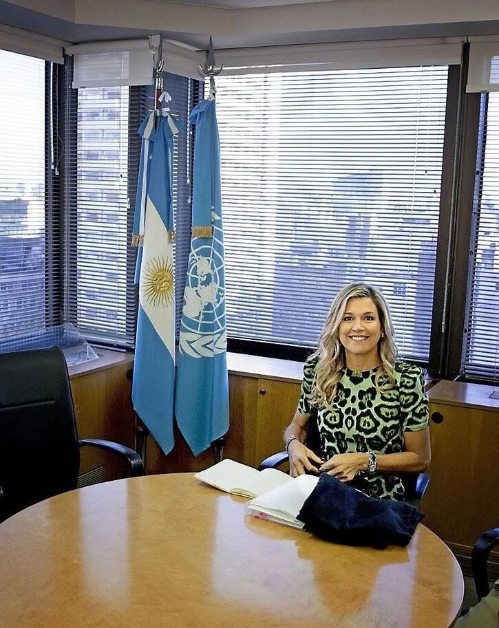 Maxima en Argentine, le 11 octobre 2016